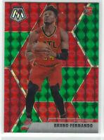 2019-20 Mosaic Choice RED & GREEN Prizm #230 BRUNO FERNANDO RC SP Rookie NBA 🏀