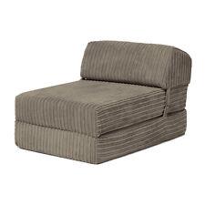 Steel Bjorn Jumbo Cord Single Chair Sofa Z Bed Seat Foam Fold Out Futon Guest