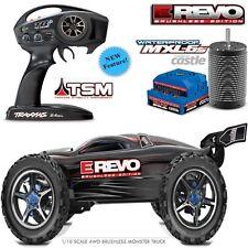 Traxxas 56086-4 1/10 E-Revo Electric Brushless Monster Truck w/ TSM /TQi Black