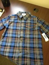 Old Navy  Boys Long SLeeve Plaid Shirt Size 5