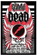 Classic Rock Grateful Dead at Duke University Concert Poster 1973   PSYCHEDELIC