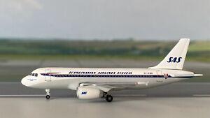 "Airbus A319 SAS Scandinavian OY-KBO ""Christian Valdemar Viking"" 1:500 OVP Herpa"
