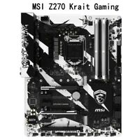 For Z270 Krait Gaming Motherboard DDR4 ATX  LGA1151 Supports 6-7 Generation 64GB