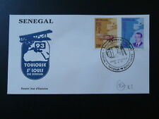 aircraft Breguet Latecoere Saint Exupery aviation aerial rally FDC Senegal 81091