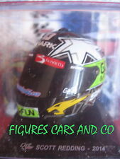 MOTO GP 1/5 CASQUE SCOTT REDDING 2014 CASCOS HELMET