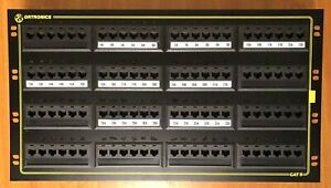 ORTRONICS 96 Port Patch Panel Cat 5 OR-851004983 Rack Mount