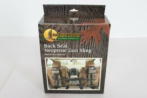 HATCHIE BOTTOM Neoprene Gun Sling back seat practical shotgun clay pigeon etc