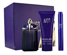 Thierry Mugler Alien Eau de Parfum 60ml & 7ml Parfum Brush & 100ml Bodylotion