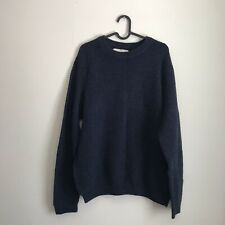 H&M L.O.G.G. Navy Sweater Large