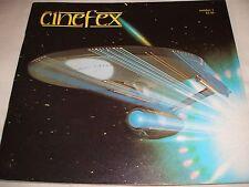 CINEFEX 1 FEATURING STAR TREK AND ALIEN MID TO HIGH GRADE RARE