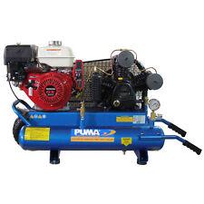 Puma 8-HP 8-Gallon Gas Two-Stage Wheelbarrow Air Compressor w/ Honda Engine