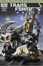 "IDW (2012) TRANSFORMERS PRIME #1RIA - Nov - ""Rage of the Dinobots"" -- 7.0 FN/VF"