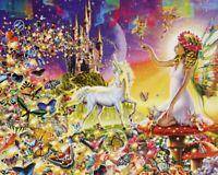 500 Pieces Jigsaw Puzzle Fairyland Unicorn - Brand New & Sealed