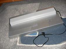 Aquariumabdeckung + Beleuchtung mit Leuchtmittel 16W 60x30 silber