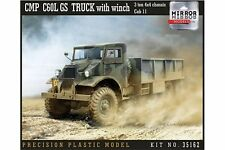 Mirror Models 35162 1/35 CMP C60L GS Truck with winch 3 ton 4x4 chassis Cab 11
