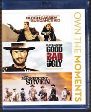 Butch Cassidy and the Sundance Kid,The Good Bad Ugly, Magnificent Seven Blu-ray