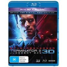 Terminator 2 Judgement Day Blu-ray 3D + 2D BRAND NEW SEALED Region B FREE POST