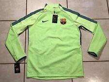NWT NIKE Shield Strike Top FC Barcelona GHOST GREEN Men's Small