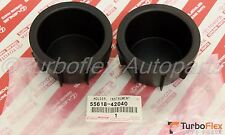 Toyota RAV4 JPP 2006-2012 Front Console Cup Holder Insert Set of 2 55618-42040