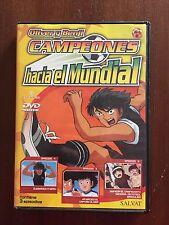 CAMPEONES OLIVER Y BENJI HACIA EL MUNDIAL DVD 2 CAPS 4 A 6 - 69 MINUTOS - SALVAT