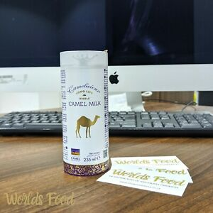 CAMEL MILK Camelicious Long Life Whole milk drink 235ml Can health drink