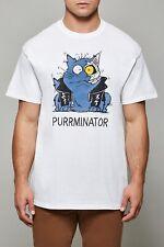 CAT T SHIRT | PURRMINATOR | Arnold Schwarzenegger Interest