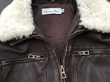 Christian Dior , Baby Dior boys (1150$) leather jacket 12+