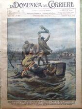 La Domenica del Corriere 11 Novembre 1928 Dolores Del Rio Africa Duce Grosseto