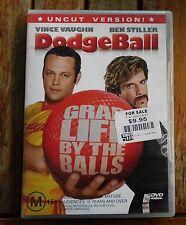 DODGEBALL  UNCUT VERSION     Region 4  DVD   Vince Vaughn , Ben Stiller    (210)