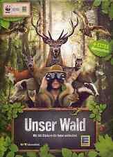 EDEKA + WWF  Unser Wald 20 Sticker aus Liste aussuchen, viele Tierbilder