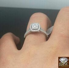 14k Donna Matrimonio Fidanzamento Diamante Nuziale Anello 2 Kt Jewelry & Watches Fine Rings