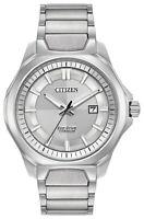 Citizen Eco-Drive Men's Titanium Sapphire Crystal 44mm Watch AW1540-88A