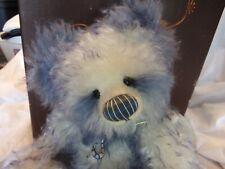 Bear Studio Isabelle Collection MISTY Mohair Panda Charlie Bears NEW