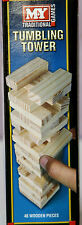 Wooden Tumbling Tower Towering Blocks Traditional Game Towers Mini Jenga Blocks