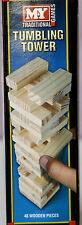 Wooden Tumbling Tower Towering Blocks Traditional Game Towers Mini Jenga Blocks