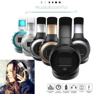 Bluetooth Headphone Foldable Stereo Earphones Hands-free Sport Gaming Headset