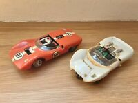 VINTAGE REVELL SLOT CARS ,  SPARES OR REPAIRS  SCALEXTRIC