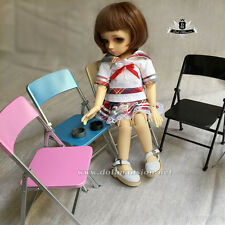 1/6 BJD Folding Chair Super Dollfie DOD AOD DZ YOSD Blythe Pullip doll furniture