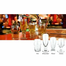 CRAFT BEER Shots Small Tasting Glasses Gift For The Beer Connoisseur - Set of 4