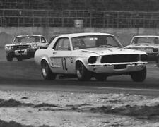 Vintage 8X10 1967 Daytona Trans Am Thompson & McComb Mustangs, Tullius Dodge