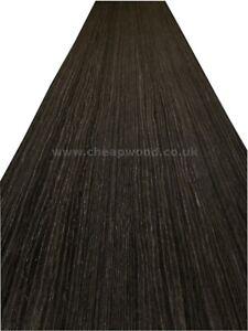 Black Oak Wood Veneer / Flexible Wood Veneer Sheet