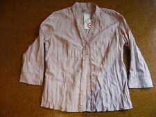 TARGET Size 12 Dusty Pink TOP. TWIST DRY Embroidered Fabric NEW.