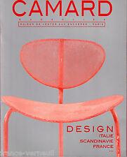 Catalogue Vente Camard Design Italien Scandinave Verrerie Ceramique Jensen...