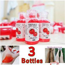 3 Bottles Tomato white body serum Nourish Skin White & Clear Skin Care Whitening