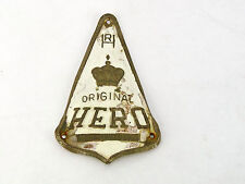 Hero Cycles Headbadge Vintage Road Bike Frame Original