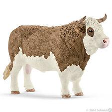 NEW SCHLEICH 13800 Fleckvieh Bull - Cattle Cow