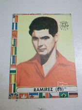 FIGURINA LAMPO CILE MONDIALE 1962 N.88 RAMIREZ ( ALBUM CALCIO MONDIALE )