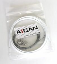 Aican Bike bicycle Shift Derailleur cable housing set kit vs Jagwire, White