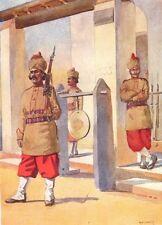 124TH DUCHESS CONNAUGHT BALUCHISTAN INF. Quarter Guard Naik Khattak Hsara 1911