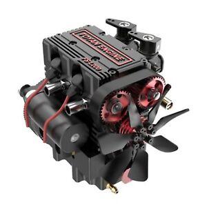 TOYAN FS-L200 Engine Model 2 Cylinder 4 Stroke Nitro Suit for RC Car Boat